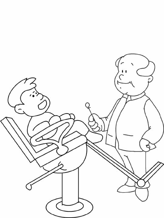 dentist coloring pages3