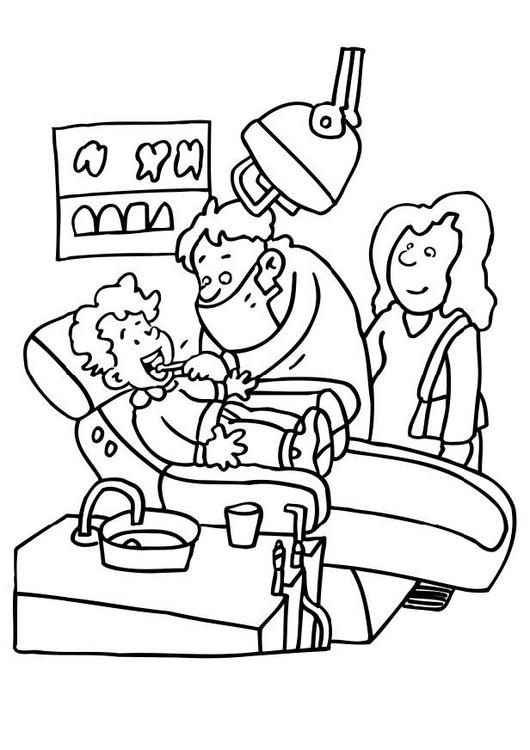 dentist coloring pages4